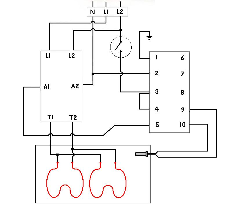 contactor  u0026 controller wiring