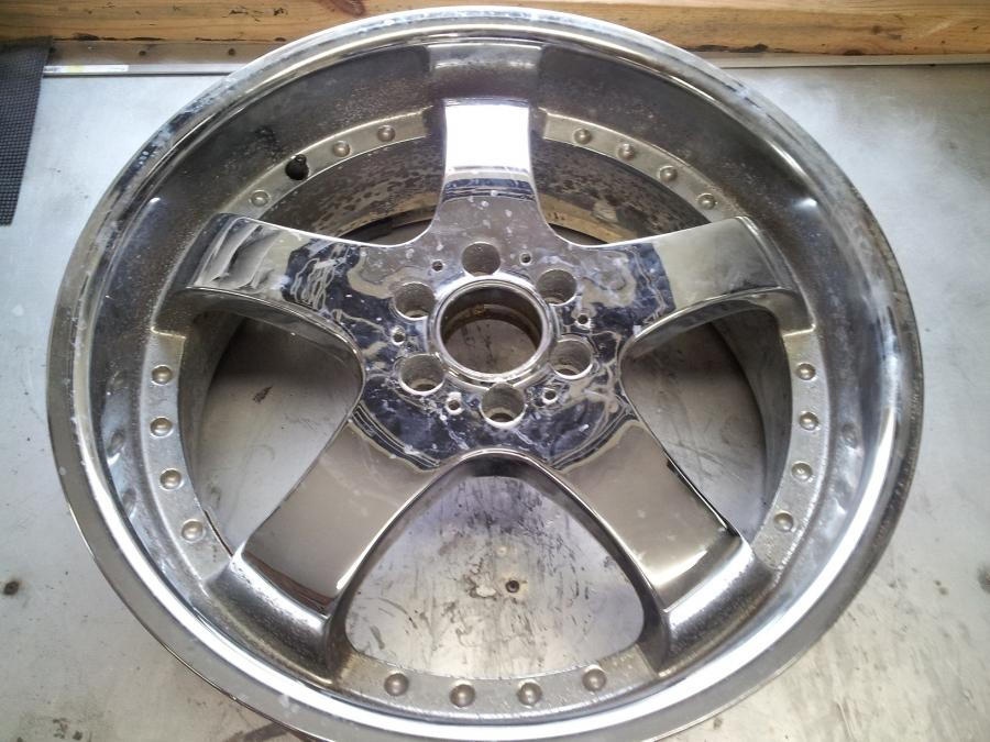 Chrome Plating on Aluminum Removal - Automotive Wheels