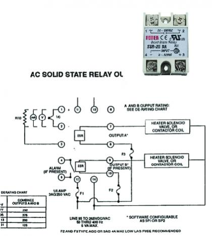 PID controller wiring diagram, will this work OK? - Caswell Inc ...
